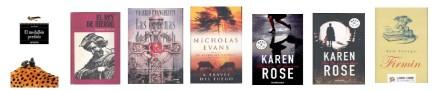Libros liberados 13 Abril 2012