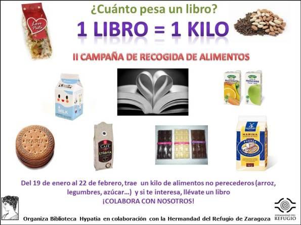 libros por alimentos II